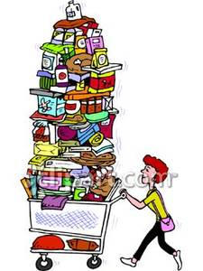 Full Grocery Cart Clipart Why Electrical Circuit...